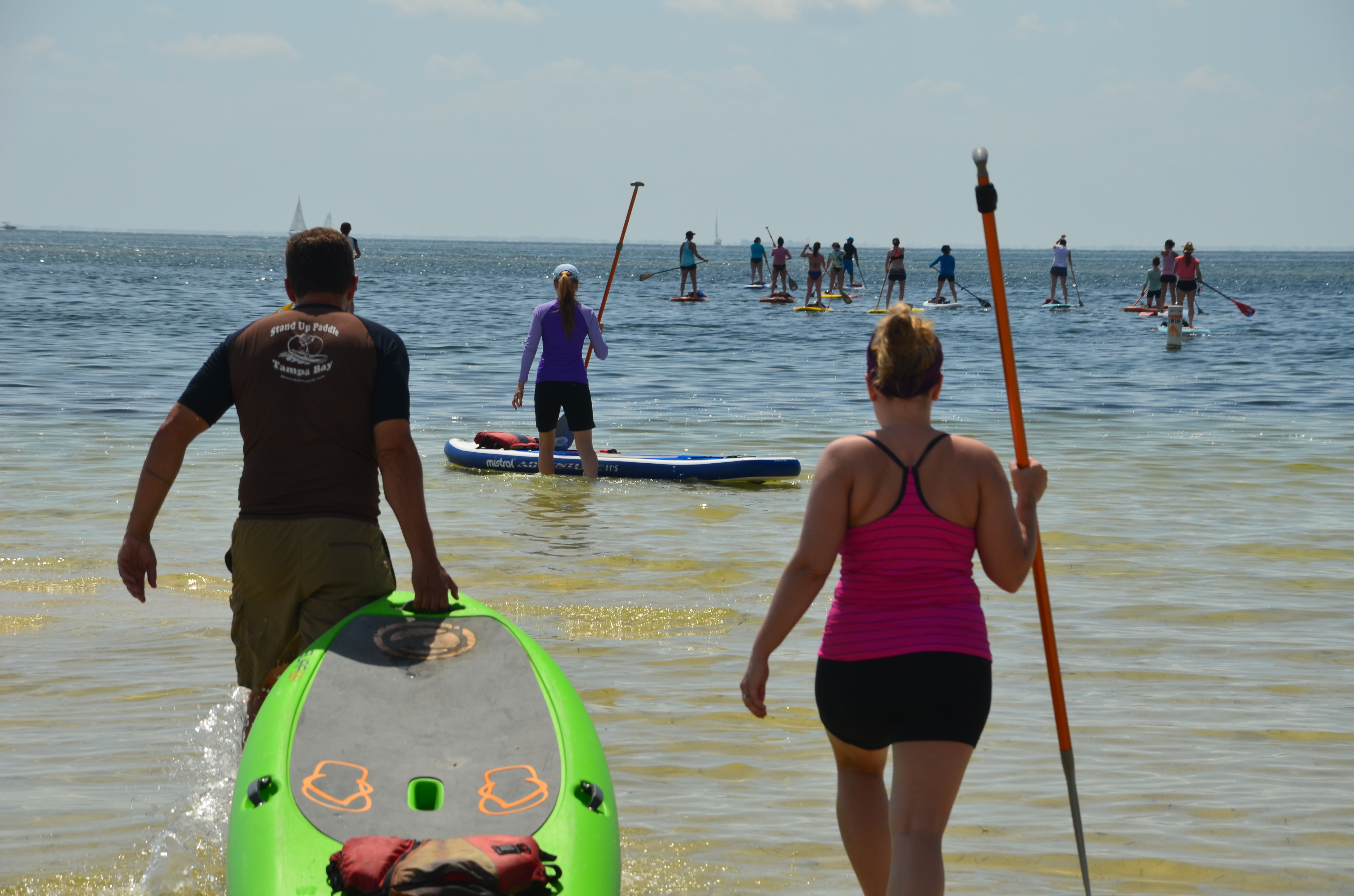 stand up paddle guide training