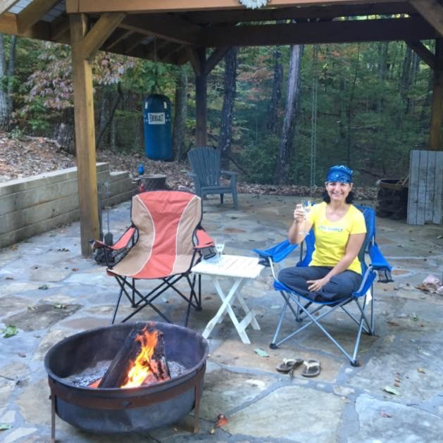 bonfires, wine, cake and the winter solstice