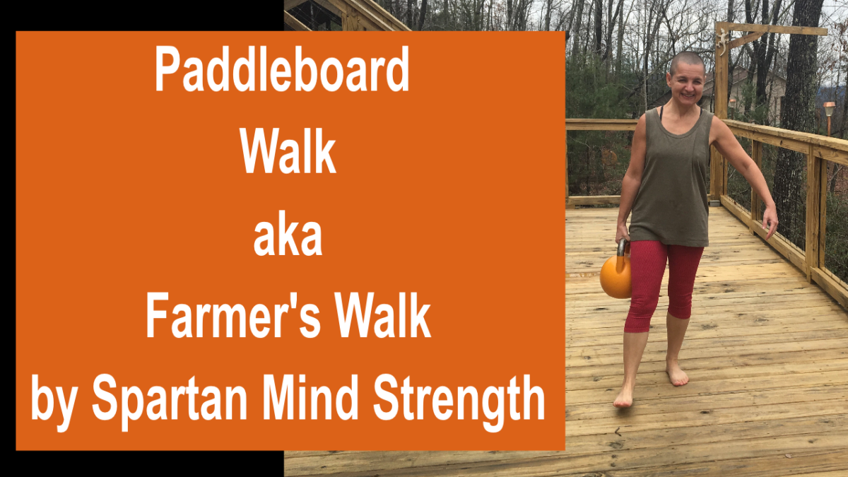 paddleboard walk farmer walk