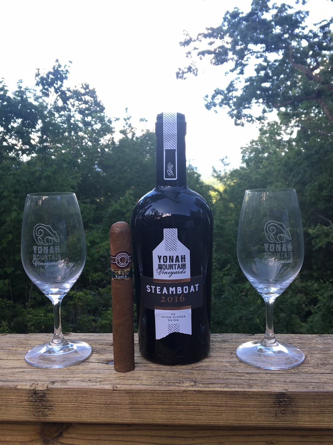 a great port and cigar combination