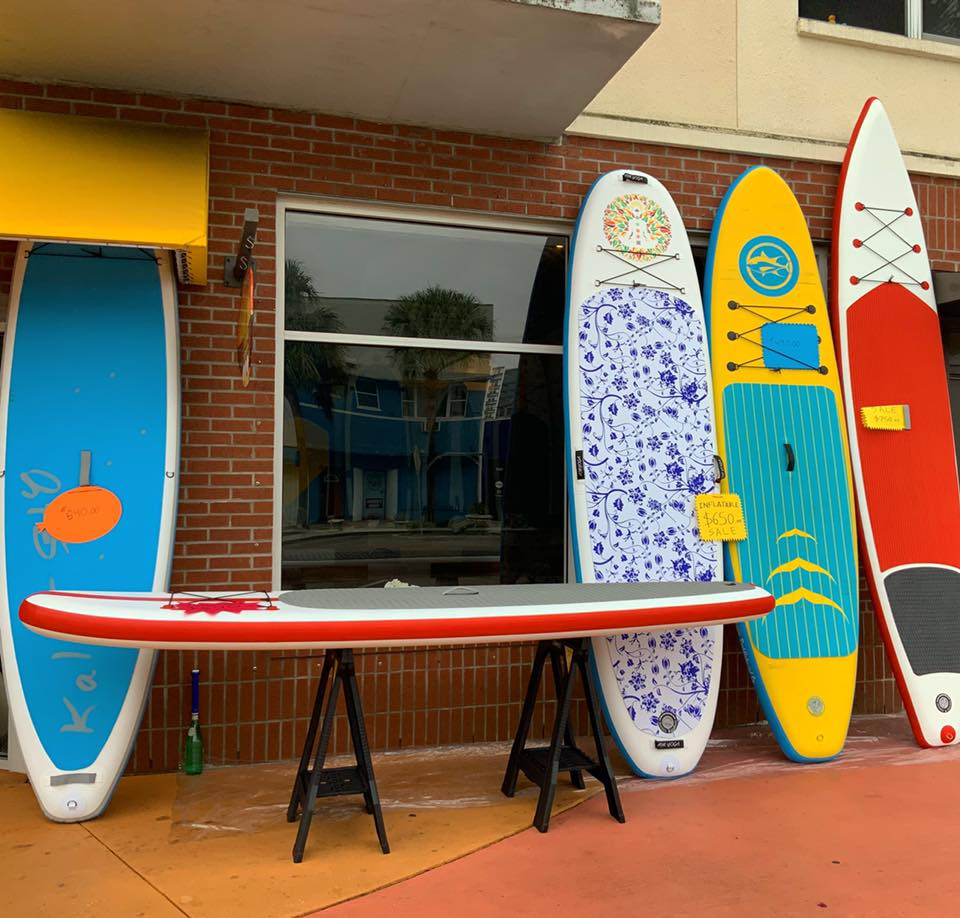 inflatable stand up paddle boards for fitness and yoga