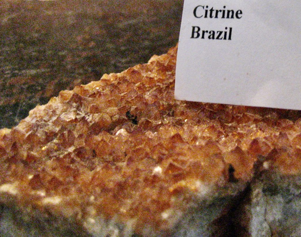 Citrine from Brazil - Heated